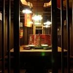 トクシマ バル - アットホームな雰囲気の店内