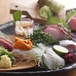 天びん棒 - 料理写真:造り盛り 1980円より