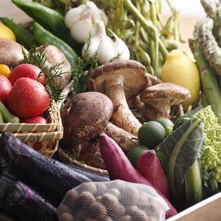 有機野菜で安心・安全◎