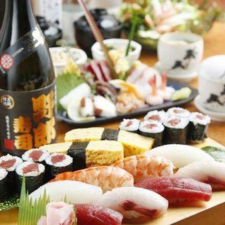 料理6品2H飲み放題付5900円→4900円(クーポン利用)