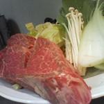 鉄板焼 大山 - ヒレ肉・焼き前