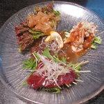 中国料理 四川亭 - 料理写真:冷菜(3種)