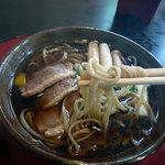 1870562 - 山菜そば(太打ち)