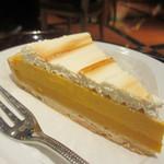 エクセルシオールカフェ  - かぼちゃのプリンタルト 450円
