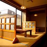 レストラン太郎 - 内観写真:小上がり席があり、ゆっくりくつろげます。小上がりだから、小さなお子様連れでもゆっくりとお食事を楽しむ事ができます。