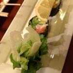 串八 - 串八 白梅町本店のサラダ巻き(13.04)
