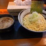 渡辺製麺 - つけ麺並(中太麺) つけ汁は濃厚魚介MIXを指定しましたヽ(^o^)丿