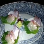 銚釐庵 - 本日の鮮魚盛り合わせ
