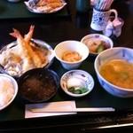 18705885 - 天ぷら定食1000円
