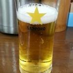 らぁめん たむら - 今回は瓶ビールも頂きまいした(●^o^●)