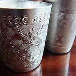ライカノ - 銀のカップは水もよりヒンやりと感じる