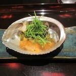 日本料理 晴山 - 鮑うどん