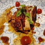 18708193 - 地鶏の網焼