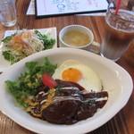 ラバーズカフェ - ロコモコランチセット 1000円