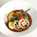 スパイスピエロ - アスパラと9種の彩り野菜