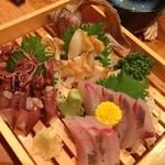 Kaisenizakayaebisuhommaru - 食べたいお刺身をチョイス