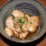 鮨 浅草 - 付き出し(白身魚の煮物)