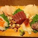 鮨 浅草 - お造り盛り合わせ