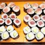 鮨 浅草 - カッパ巻き(450円)に,鉄火巻き(750円)に,ネギトロ巻き(900円)