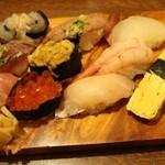鮨 浅草 - 特上ずし(1,500円)