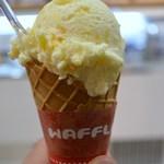 18712128 - フローズンヨーグルトのナツミカン味。とてもさわやかな味わいです(^-^)