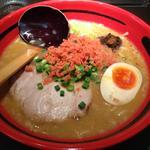 18712145 - えびみそ そのまま 太麺