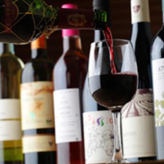自然派ワイン各種取り揃えております♪