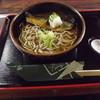 聴琴亭 - 料理写真:「御膳そば」800円