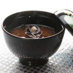 ひさご寿し - セタシジミ赤出汁500円