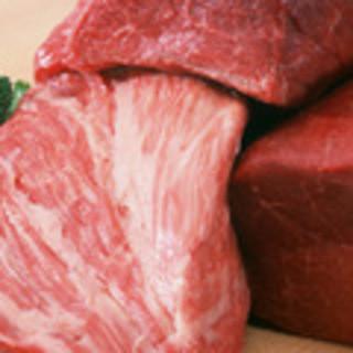 自慢の鹿児島県産黒毛和牛100%のハンバーグ!