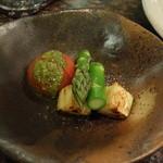 道灌かがり - コース焼野菜