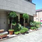 木の香 - 中川駅の遊歩道沿い