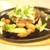 ビッグボーイ - 料理写真:九条ねぎ塩ハンバーグ(150g)