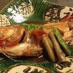 18724306 - キンキ煮付け3,200円