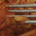 アズーリ - ブカティーニの麺