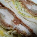 肉の山崎 - チキンカツサンド
