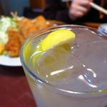 大鵬 - レモンサワー