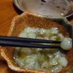 Kushikatsudengana - たこわさ280円也(娘オーダー)