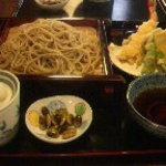 利根川蕎麦店 - 天もりそば