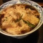 利根川蕎麦店 - 親子とじ