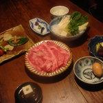 丹波谷 かくりゅう - すき焼きコース  6,000円