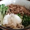 さぬきうどん たかはし - 料理写真:現在人気ダントツNo.1の冷やし肉ぶっかけうどん!価格は590円