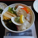 ホテル松尾 - 料理写真:海鮮うずめ飯