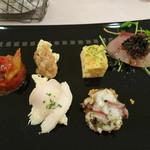 モン・ラパン - 料理写真:前菜の盛り合わせ
