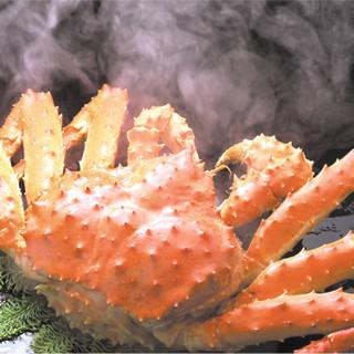 茹でたて!あつあつの蟹をご提供しております!!