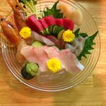 こおきち - 料理写真:刺身の盛り合わせ