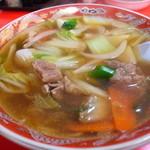 中国料理 福寿 - 料理写真:五目汁そば580円