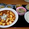 一龍 - 料理写真:麻婆豆腐ランチ 580円
