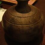 梵字 - 熱々の蕎麦湯