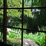 茶庵 芙蓉 - 庭には池も